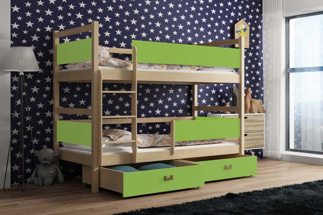 Łóżko dziecięce z materacami Smyk! Nowość !