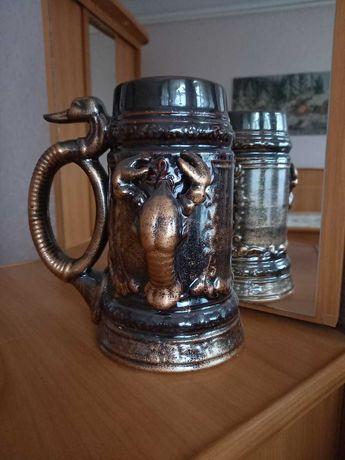 Керамічна кружка для пива