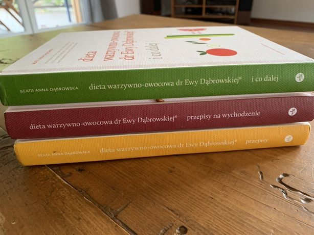 Dieta warzywno - owocowa dr Dąbrowskiej - zestaw