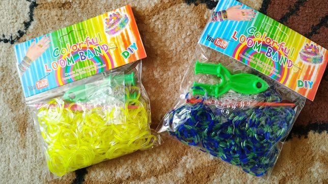 Резинки для плетения браслетов плетення браслетів резиночки крючок