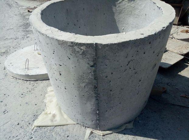 Кольца бетонные. Бетон миксерами