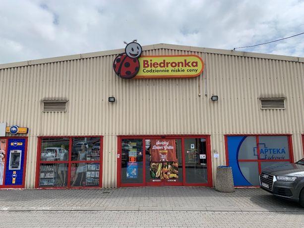 Lokale handlowe 38 i 46 m2 - Zabierzów BIEDRONKA