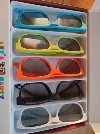 Okulary LG 3d do telewizora 5 sztuk