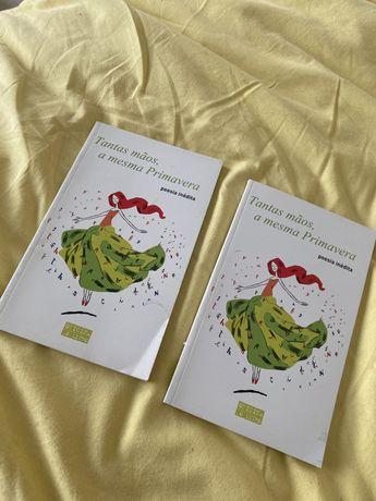 """Livros para crianças, poemas (""""Tantas mãos, a mesma Primavera)"""