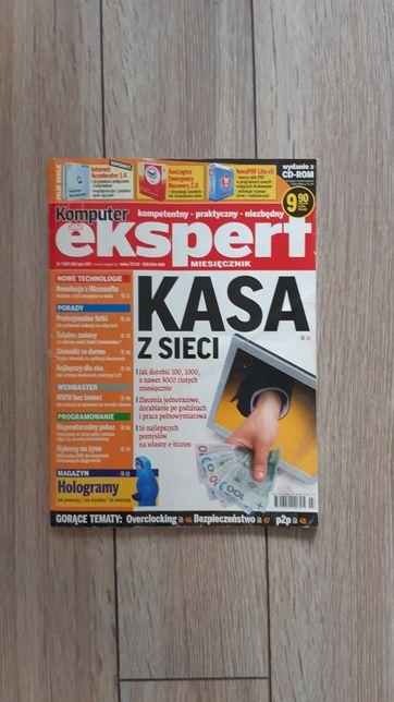 Komputer ekspert archiwalne wydanie czasopismo gazeta lipiec 2007