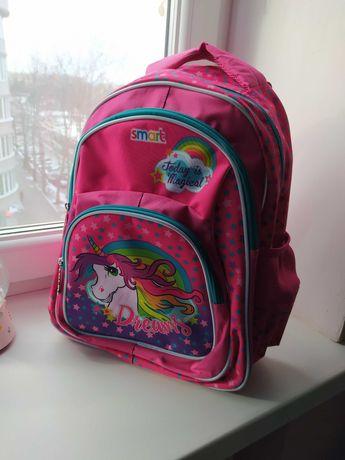 Рюкзак школьный Smart Единорог  ZZ-01 Unicorn
