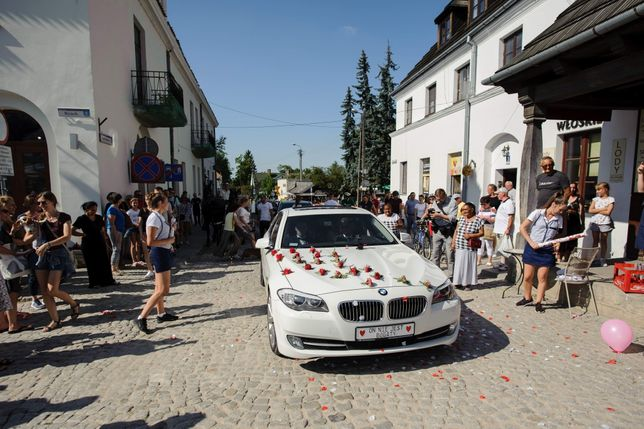 Auto do Ślubu BMW f10 Super promocja