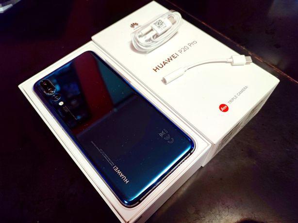 Telefon Huawei P20 Pro niebieski stan idealny