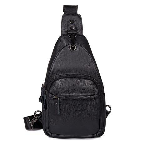 Рюкзак сумка через плече сумка мужская натуральная кожа