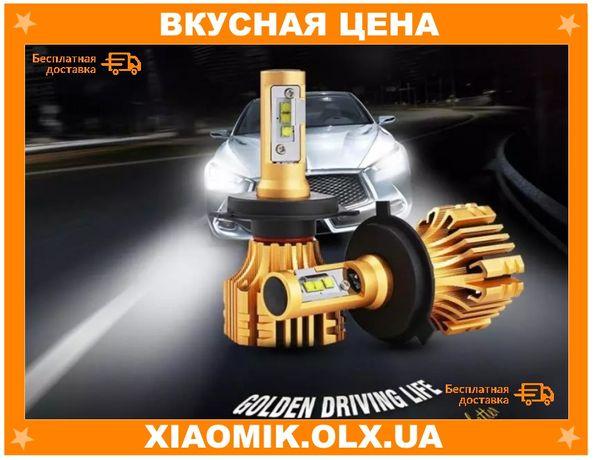 Светодиодные авто Led лампы Oslamp IronWalls T6 цоколь H4