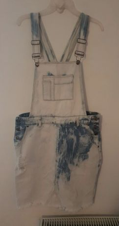 Sukienka jeans r 40/L stan idealny
