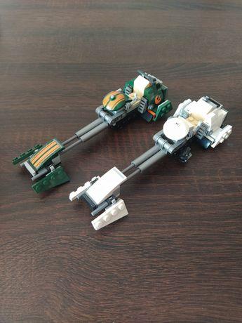 LEGO star wars ścigacze