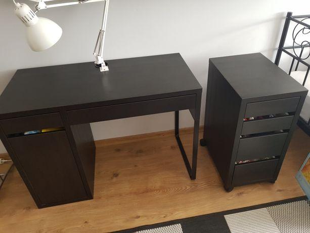 Biurko IKEA,dwuczęściowe