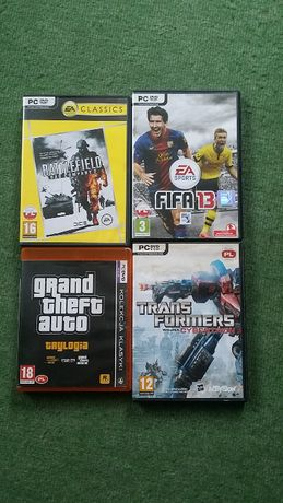 Zestaw 4 gier na PC