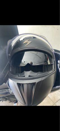 Tenho capacete da marca Scorpion Exo 910 Air
