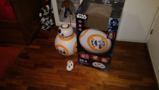 Robo/android BB-8 Star Wars da marca I´m Thinking Toys como novo.