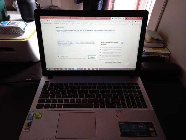 Laptop ASUS K550JD - Intel i7, 8 GB RAM, 1 TB HDD, Geforce, Bolsa