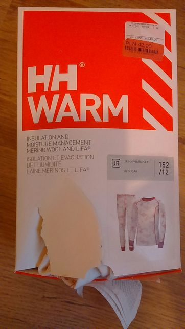 Helly Hansen warm set junior