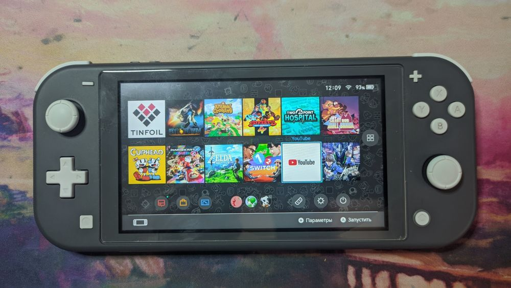 Прошивка Nintendo Switch Lite, чиповка, SX Lite Дружковка - изображение 1