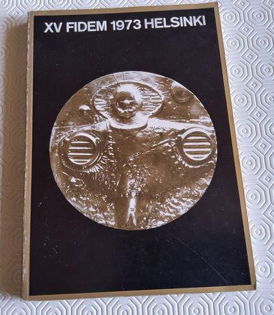 7521#Livro sobre medalhas diversos Países do Mundo (XV Fidem 1973)