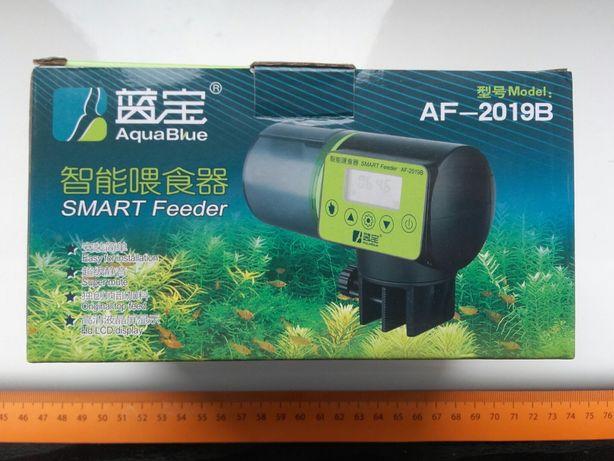 Podajnik pokarmu do akwarium na 4 czasy na baterie AF-2019B w pudełku