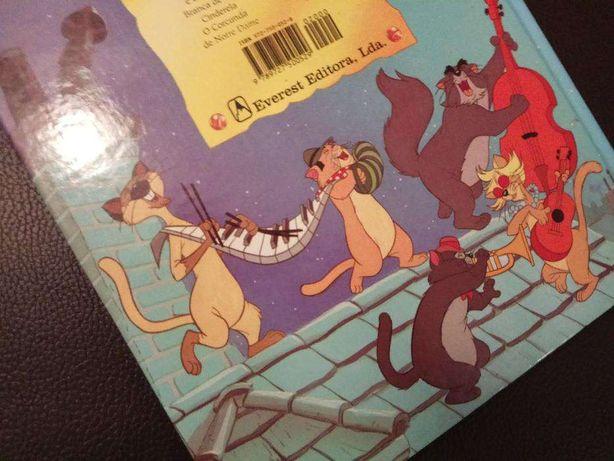 Livro da Disney - Os Aristogatos