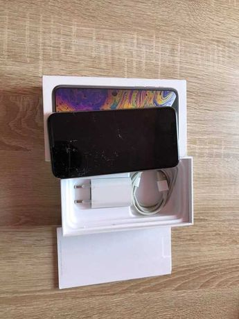 iphone xs 256gb silver uszkodzony