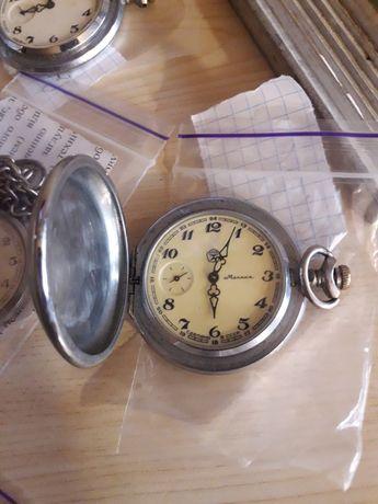 Часы карманные Молния глухарь Восток ссср