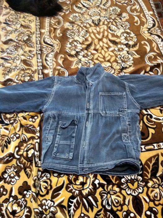 Продам детскую джинсовую куртку весна-осень Павлоград - изображение 1