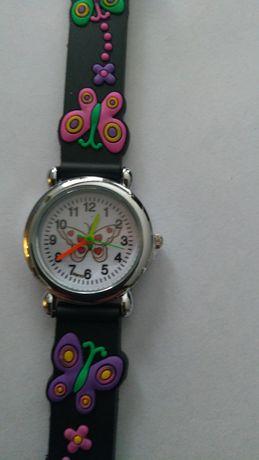 Zegarek dziecięcy motylki