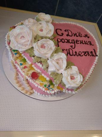 Приготовлю домашний торт и капкейки на заказ к Вашему празднику