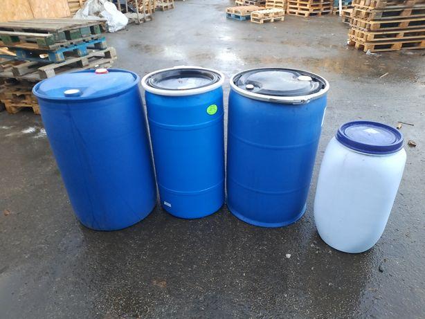 Beczki plastikowe 70,140,200 litrów
