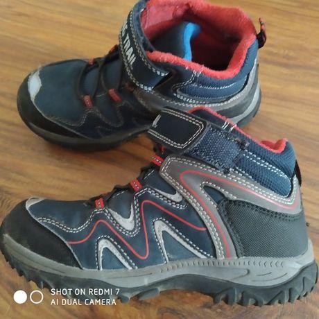 Buty za kostkę jesień zima trekingowe r 32