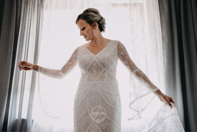 Suknia ślubna typu boho