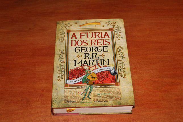 A Guerra dos Tronos A Fúria dos Reis Vol3 ED ESP LTD George RR Martin