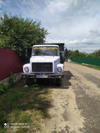 ГАЗ 3307 самосвал