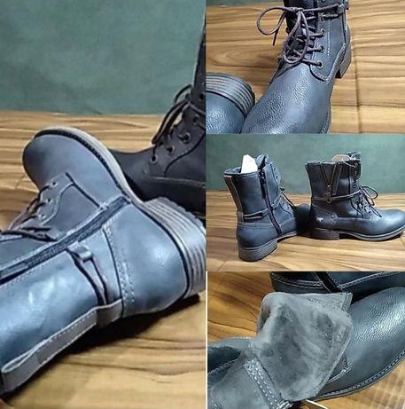 Mustang женские ботинки