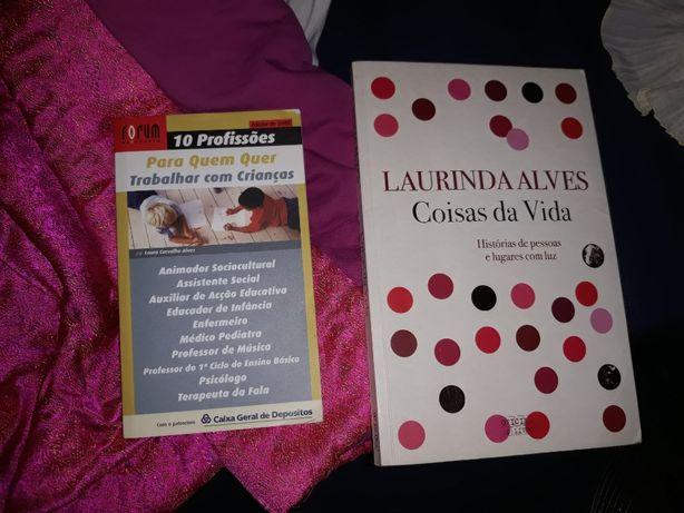 Livros em boas condições (Laurinda Alves, Susanna Tamaro, etc)