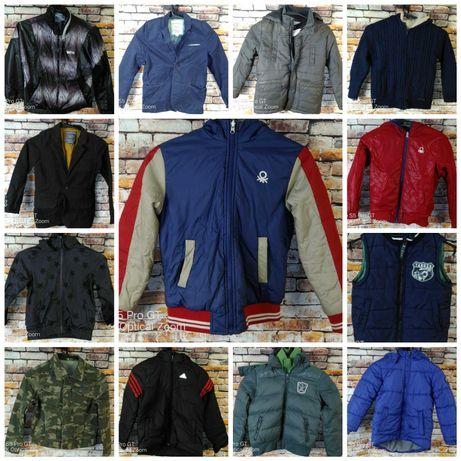 Куртки,брюки,ветровки,жилеты Adidas, Esprit,Benetton.Подростковые.