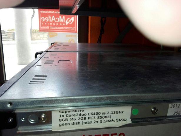 Servidor rack supermicro E 6400/4Gb