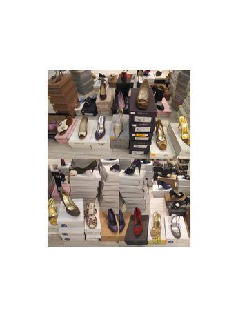 Likwidacja sklepu obuwniczego , buty za grosze
