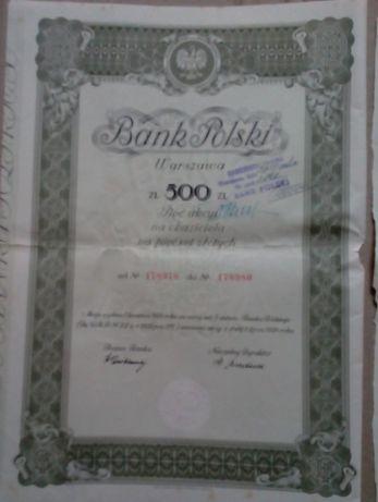 Bank Polski - akcja na 500 zł