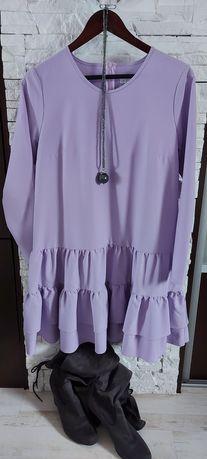 Nowa sukienka sugarfree liliowa L