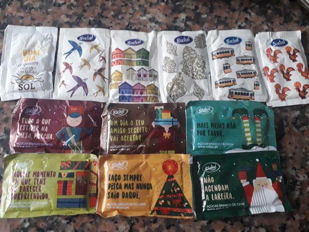Pacotes de açúcar
