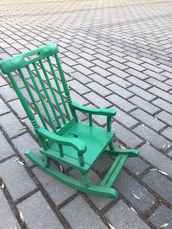 Mini Krzesełko plastikowe, Bujak mini dla dziecka lub dla lalek