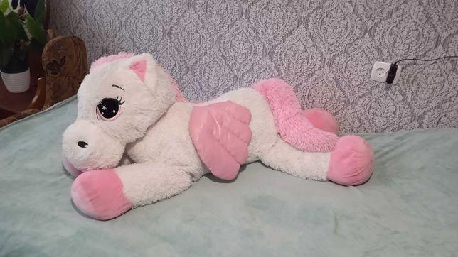 Миле рожеве поні з крилами