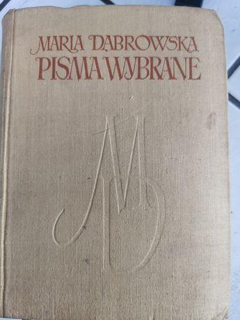 Zabytek Maria Dąbrowska pisma wybrane