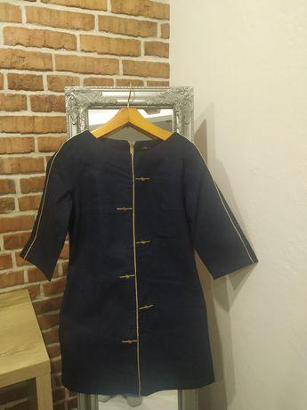Котонновое платье р.44