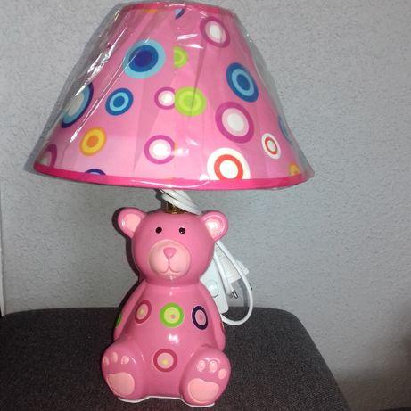 Miś lampka nocna wys.36 cm
