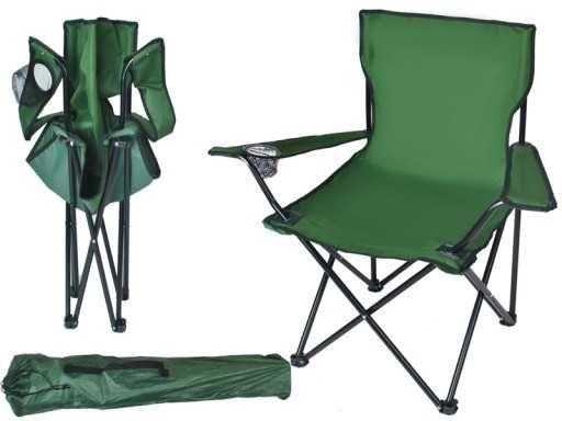 Krzesło wędkarskie kolory turystyczne składane duże HURT-DETAL